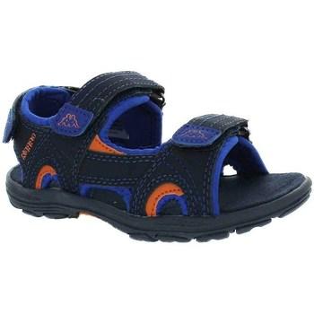 Boty Chlapecké Sandály Kappa Early II Černé, Modré, Oranžové