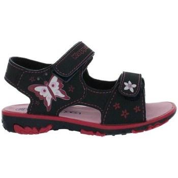 Boty Dívčí Sandály Kappa Blossom Černé, Tmavomodré, Růžové