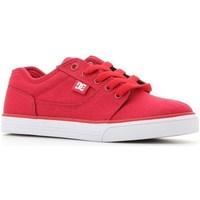 Boty Děti Nízké tenisky DC Shoes Tonik TX Červené