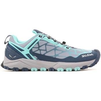 Boty Ženy Nízké tenisky Salewa WS Multi Track Šedé,Modré,Modré
