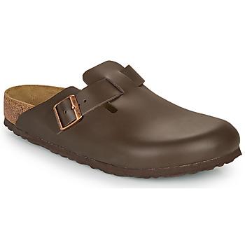 Boty Muži Pantofle Birkenstock BOSTON SFB Hnědá