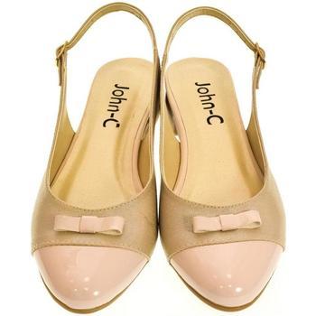 Boty Ženy Sandály Just Mazzoni Dámske svetlo-ružové sandále EVELINE ružová
