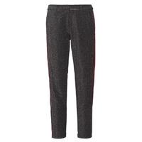 Textil Ženy Kapsáčové kalhoty Maison Scotch TAPERED LUREX PANTS WITH VELVET SIDE PANEL Šedá