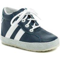 Boty Chlapecké Kotníkové boty Pegres 1090 modré dětské capáčky Modrá