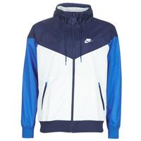 Textil Muži Větrovky Nike M NSW HE WR JKT HD Modrá / Bílá