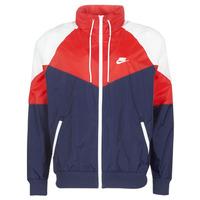Textil Muži Větrovky Nike M NSW HE WR JKT HD + Tmavě modrá