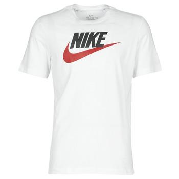 Textil Muži Trička s krátkým rukávem Nike M NSW TEE ICON FUTURA Bílá