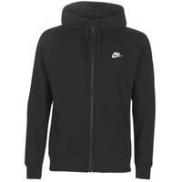 Textil Muži Mikiny Nike M NSW CLUB HOODIE FZ BB Černá