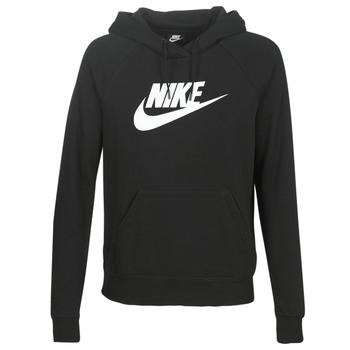 Textil Ženy Mikiny Nike W NSW ESSNTL HOODIE PO  HBR Černá