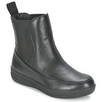 Boty Ženy Kotníkové boty FitFlop FF-LUX CHELSEA BOOT Černá