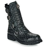 Boty Kotníkové boty New Rock  Černá