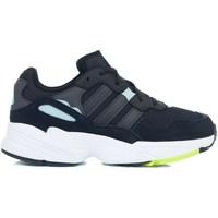 Boty Dívčí Nízké tenisky adidas Originals YUNG96 J Černé