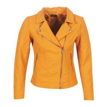 Textil Ženy Kožené bundy / imitace kůže Only ONLMEGAN Žlutá