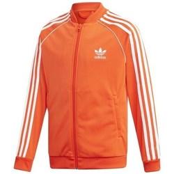 Textil Děti Mikiny adidas Originals Sst Track Jacket Bílé, Oranžové