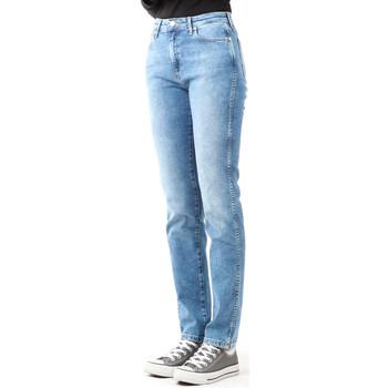 Textil Ženy Rifle skinny Wrangler Boyfriend Best Blue W27M9194O blue