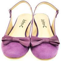 Boty Ženy Sandály John-C Dámske fialové sandále SIARA fialová