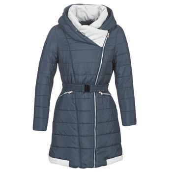 Textil Ženy Prošívané bundy Betty London LOLAPO Modrá / Tmavě modrá