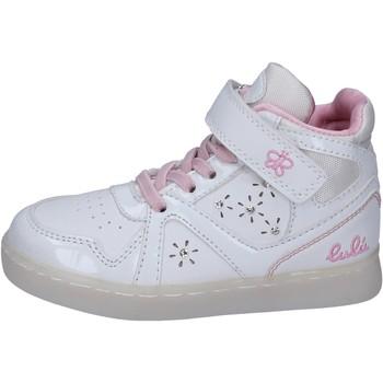 Boty Dívčí Kotníkové tenisky Lulu Tenisky BR351 Bílý