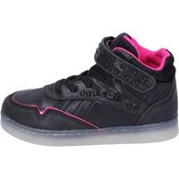 Boty Dívčí Kotníkové tenisky Lulu BR353 Černá