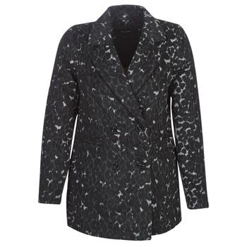 Textil Ženy Kabáty Vero Moda VMCOCOLEOPARD Šedá