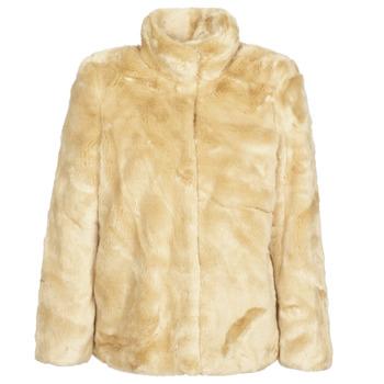 Textil Ženy Kabáty Vero Moda VMMINK Béžová