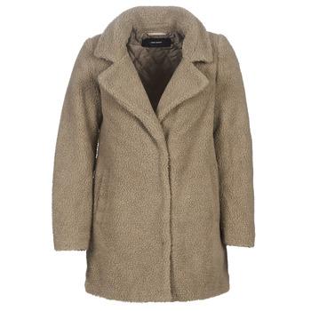 Textil Ženy Kabáty Vero Moda VMZAPPA Béžová
