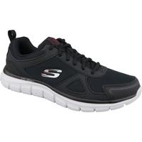 Boty Muži Běžecké / Krosové boty Skechers Track-Scloric noir
