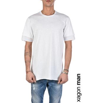 Textil Muži Trička s krátkým rukávem Xagon Man  Bílá