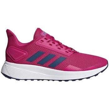 Boty Dívčí Nízké tenisky adidas Originals Duramo 9 K Růžové