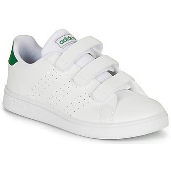 Boty Děti Nízké tenisky adidas Originals ADVANTAGE C Bílá