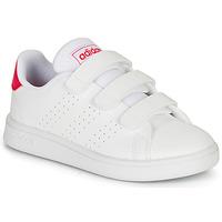 Boty Dívčí Nízké tenisky adidas Originals ADVANTAGE C Bílá