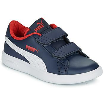 Boty Chlapecké Nízké tenisky Puma SMASH V2 L V PS Tmavě modrá
