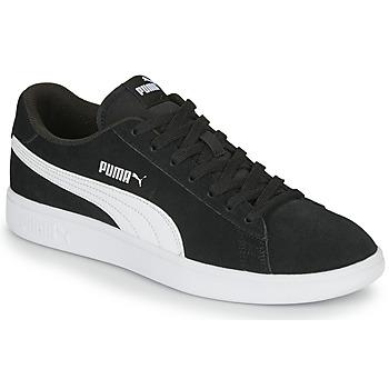 Boty Muži Nízké tenisky Puma SMASH Černá