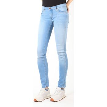 Textil Ženy Rifle slim Wrangler Jeans  Blue Trace W22TF729D