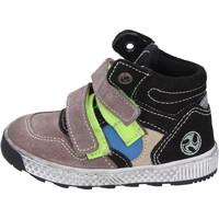 Boty Chlapecké Kotníkové boty Mkids sneakers camoscio Beige