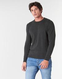 Textil Muži Svetry Jack & Jones JJEBASIC Šedá