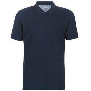 Textil Muži Polo s krátkými rukávy Jack & Jones JJEBASIC Tmavě modrá