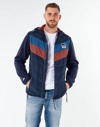 Textil Muži Bundy Jack & Jones JORJASPER Tmavě modrá / Červená