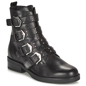 Boty Ženy Kotníkové boty André NARCISSE Černá