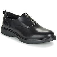 Boty Muži Šněrovací společenská obuv André BRADON Černá