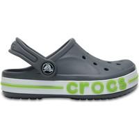 Boty Děti Pantofle Crocs™ Crocs™ Bayaband Clog Kid's Charcoal