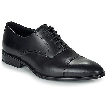 Boty Muži Šněrovací společenská obuv André REPLI Černá