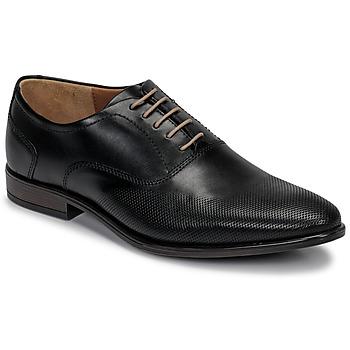 Boty Muži Šněrovací společenská obuv André PERFORD Černá