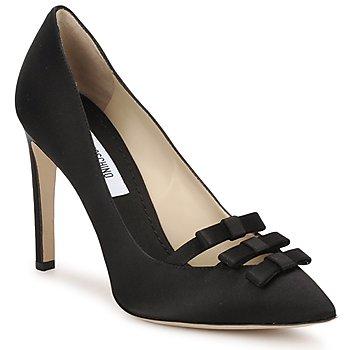 Boty Ženy Lodičky Moschino MA1012 Černá