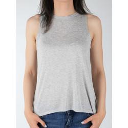 Textil Ženy Tílka / Trička bez rukávů  Lee Tank L40MRB37 grey