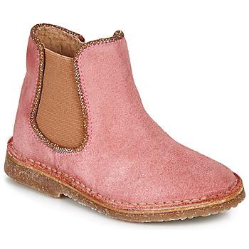 Boty Dívčí Kotníkové boty André ARIA Růžová
