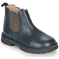 Boty Chlapecké Kotníkové boty André XAVIER Tmavě modrá