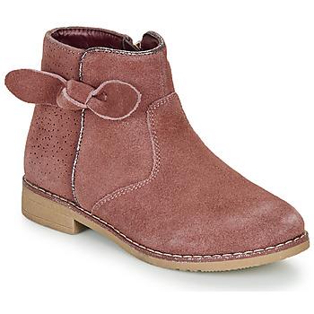 Boty Dívčí Kotníkové boty André MALYA Růžová