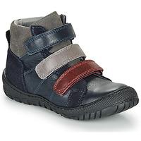 Boty Chlapecké Kotníkové boty André NOAM Tmavě modrá