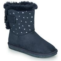 Boty Dívčí Kotníkové boty André ZAPALA Tmavě modrá